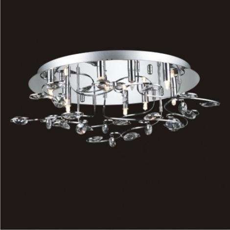 LUXERA 1586 - CRYSTAL kristály csillár 9xG9/40W