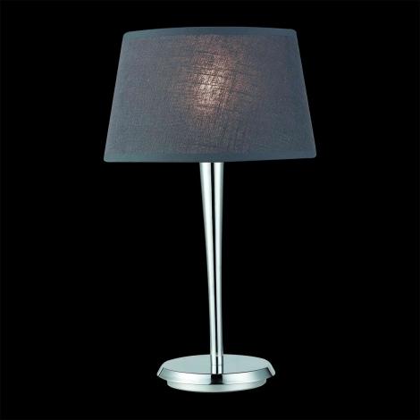 LUXERA 18050 - COMBO asztali lámpa 1xE27/60W szürke