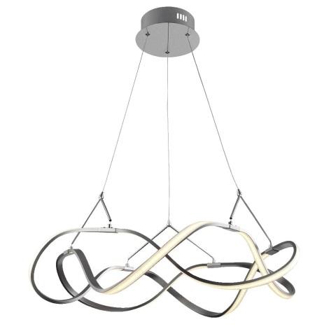 Luxera 18104 - LED Csillár zsinóron MINUET 1xLED/35W/230V