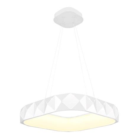 Luxera 18413 - LED Dimmelhető csillár zsinóron CANVAS 1xLED/38W/230V