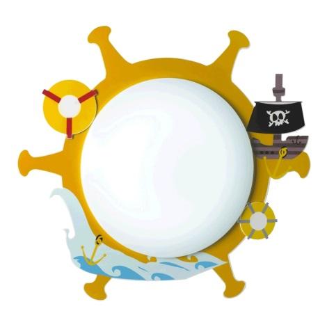 Luxera 28024 - Gyerek mennyezeti lámpa PIRAT 3xE14/9W/230V
