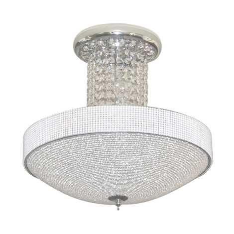 Luxera 32303 - Kristály mennyezeti lámpa Saladin 5xE14/40W/230V