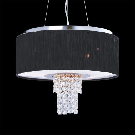 Luxera 33501 - Függesztékes mennyezeti lámpa Pashmina 6XE14/40W/230V