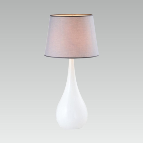 Luxera 33507 - Aasztali lámpa BLUR E27/60W/230V