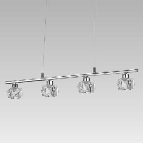 LUXERA 34042 - ZENITH LED-es függeszték 4xLED/5W