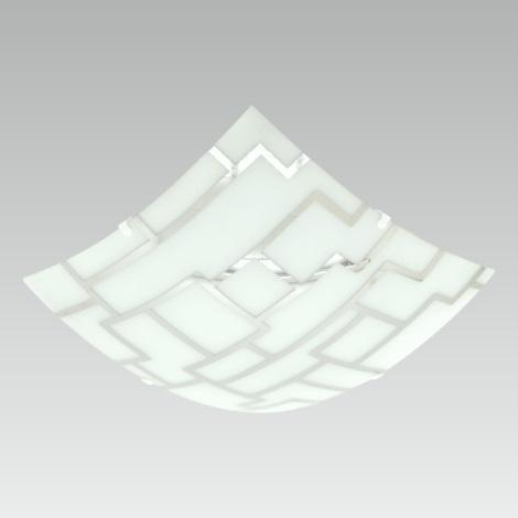 Luxera 45058 F - Mennyezeti lámpa SARI 1xE27/60W/230V