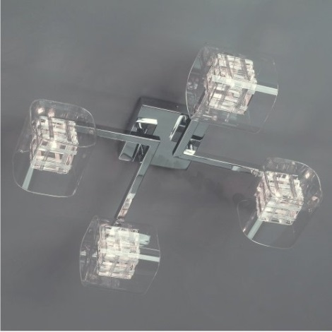 LUXERA 46000 - TOGO csillár 4xG9/40W