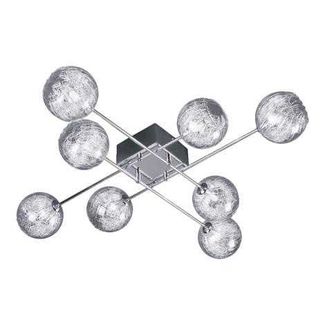 LUXERA 46036 - CRONOS csillár 8xG9/60W króm