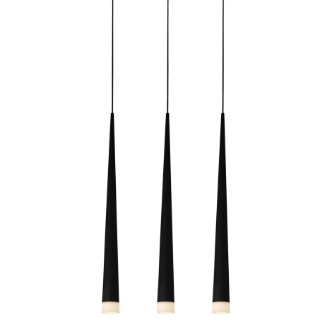 LUXERA 48003 - EBONY csillár 3xG9/40W