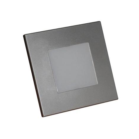 Luxera 48302 - LED Fali lépcsőmegvilágítás 16xLED/1W/230V
