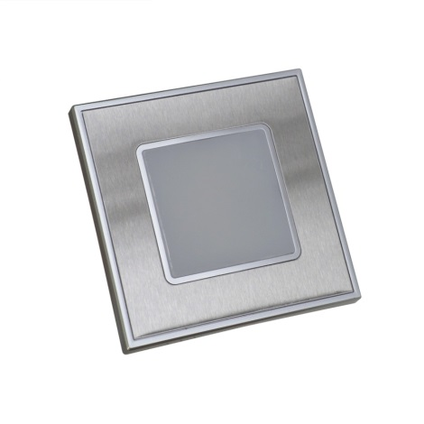 Luxera 48303 - LED Fali lépcsőmegvilágítás 16xLED/1W/230V