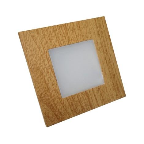 Luxera 48307 - LED-es helyzetjelző lámpa STEP LIGHT 16xLED SMD/1W/230V