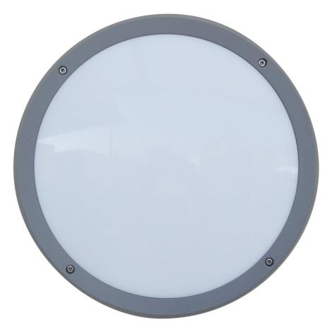 Luxera 48308 -Kültéri fali lámpa érzekelővel NUVOLA 30xLED SMD/13,5W/230V