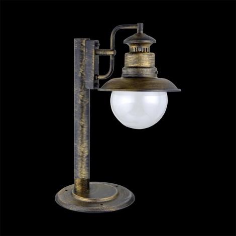 LUXERA 48402 - Asztali lámpa 1xE27/60W IP44