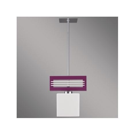 LUXERA 51261 - SANGA függeszték 1xE14/60W lila