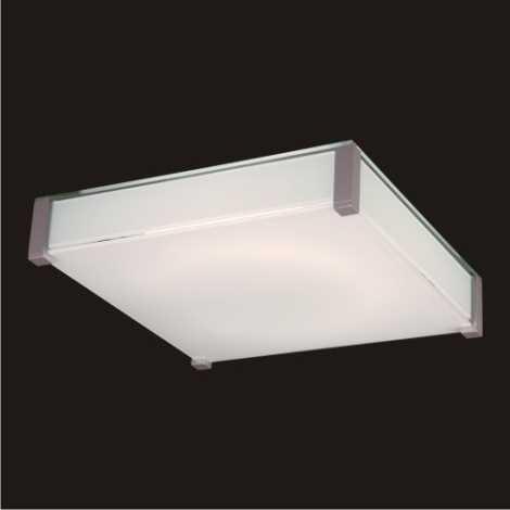 LUXERA 62005 - SUPRA mennyezeti lámpa 4xE27/60W fényes ezüst