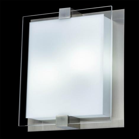 LUXERA 62010 - SHARP mennyezeti lámpa 3xE27/18W matt króm