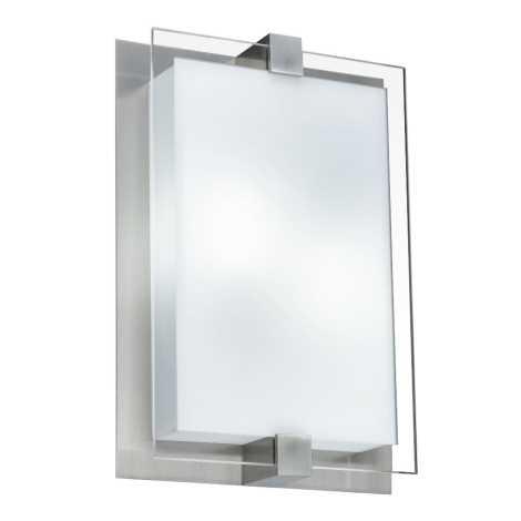 LUXERA 62012 - SHARP mennyezeti lámpa 2xE27/18W  matt króm