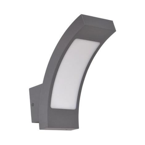 LUXERA 63002 - MANHATAN kültéri LED-es fali lámpa 60xLED/6W 210x205 mm