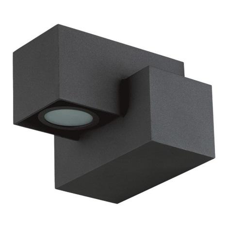 LUXERA 63006 - ROCS LED-es kültéri fali lámpa 1xLED/3W