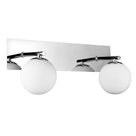 Luxera 65020 - Fürdőszobai lámpa NAOS 2xG9/33W/230V