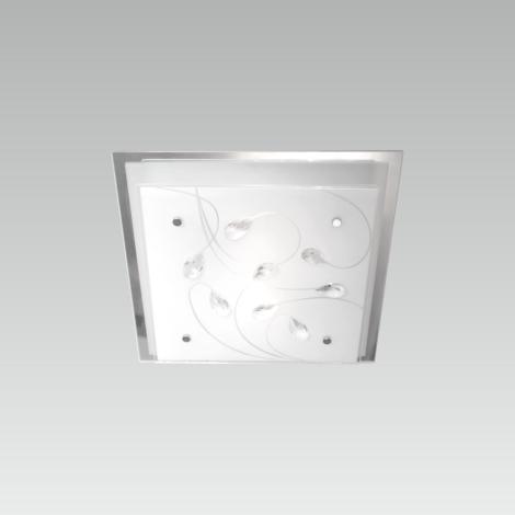 LUXERA 65105 - IKAROS KRISTAL mennyezeti lámpa 1xE27/60W