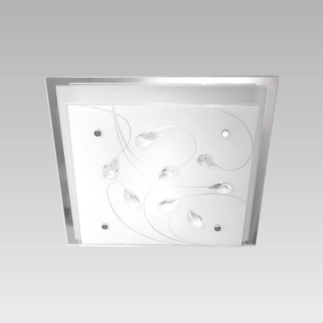 LUXERA 65106 - IKAROS KRISTAL mennyezeti lámpa 2xE27/60W