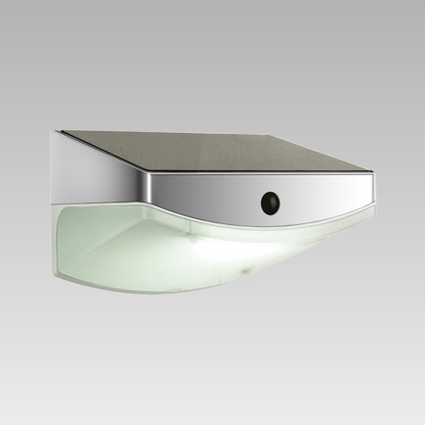 Luxera 65250 - LED Kültéri fali lámpa a mozgásérzékelős TARDIS 3xLED/0,5W/5,4V