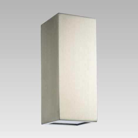 Luxera 65253 - Kültéri fali lámpa BLOCK 2xLED/1,5W/230V