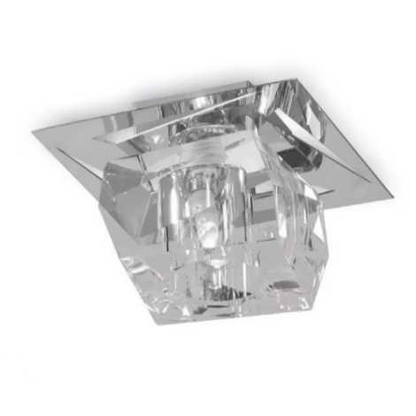 Luxera 69056 - Mennyezeti kristály lámpa FLOYD 1xG9/33W/230V
