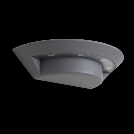 LUXERA 70129 - GHOST LED-es kültéri fali lámpa 4xLED/3W
