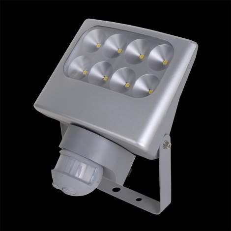 LUXERA 70130 - NEGARA szenzoros LED-es reflektor 8xLED/3W