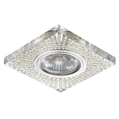 Luxera 71072 - Spot lámpa ELEGANT 1xGU10/50W/230V + LED STRIPE