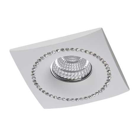Luxera 71091 - Mennyezeti lámpa CRYSTALS 1xGU10/50W/230Vkristály