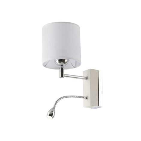 MANGO MA K B - LED fali lámpa 1xE27/60W + LED/1W/230V