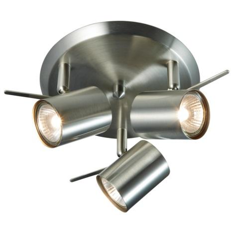 Markslöjd 105486 - LED Spotlámpa HYSSNA 3xGU10/50W/230V króm