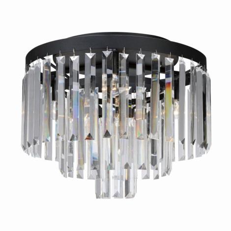 Markslöjd 106563 - Kristály mennyezeti lámpa VENTIMIGLIA 4xE14/40W/230V