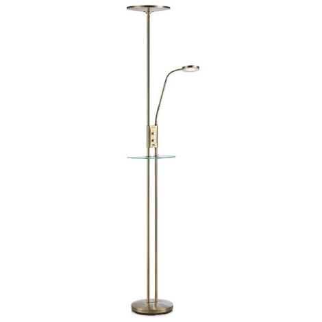 Markslöjd 107009 - LED Szabályozható állólámpa FRIEND LED/18W/230V + LED/5W