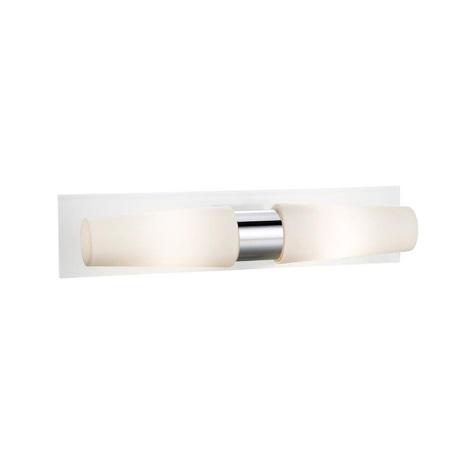 Markslöjd 107615 - Fürdőszobai fali lámpa BRASTAD 2xE14/40W/230V IP44
