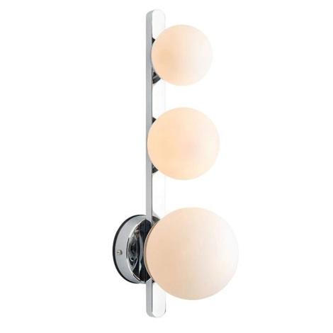 Markslöjd 108069 - Fürdőszobai fali lámpa PURO 3xG9/20W/230V IP44