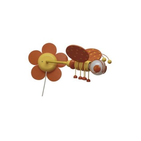 MÉHECSKE fali lámpa narancsárga/sárga 1xE27/60W + kapcsoló