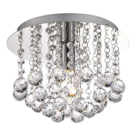 Mennyezeti kristály lámpa ACTON 1xE14/60W/230V