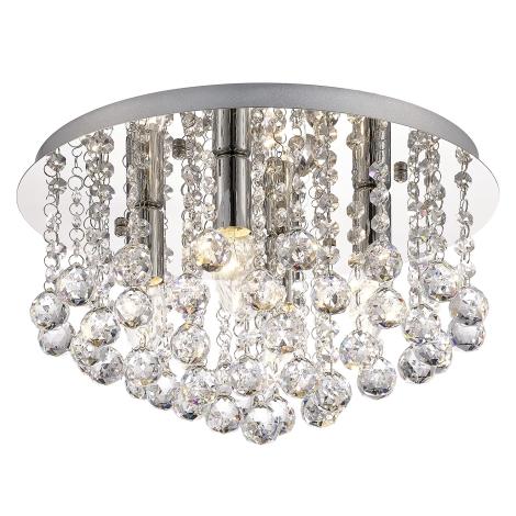 Mennyezeti kristály lámpa ACTON 4xE14/60W/230V