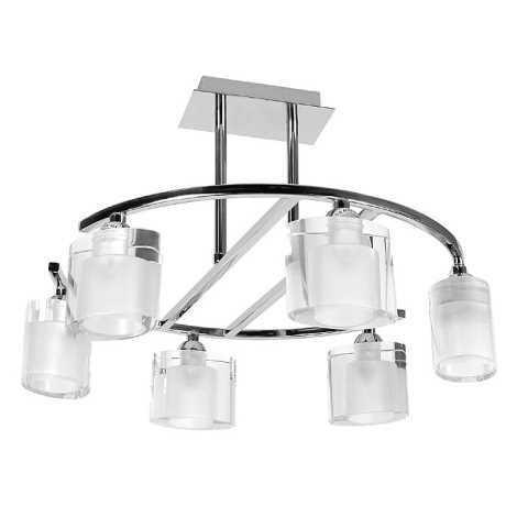 Mennyezeti lámpa 6xG9/60W/230V