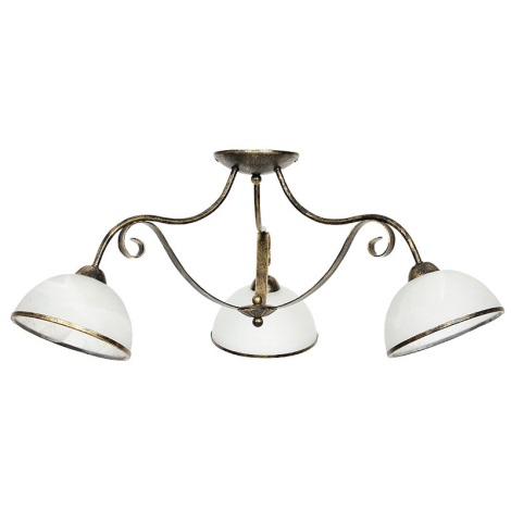 Mennyezeti lámpa ANTICA 3xE27/60W/230V