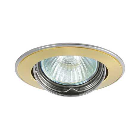Mennyezeti lámpa Axl 5515 1xMR16/50W gyöngyház arany/nikkel - GXPL042
