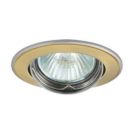 Mennyezeti lámpa Axl 5515 1xMR16/50W szatén arany/nikkel - GXPL045
