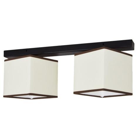 Mennyezeti lámpa BACARA 2xE27/60W/230V