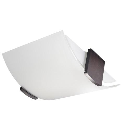 Mennyezeti lámpa EMILIO 2xE27/60W/230V fehér/wenge