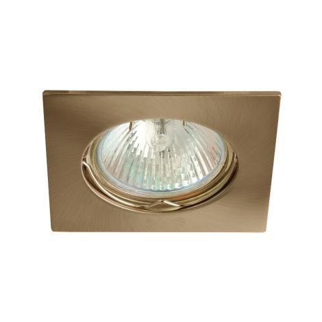 Mennyezeti lámpa IZZY 1xMR16 DS10/50W Brass - GXPL009